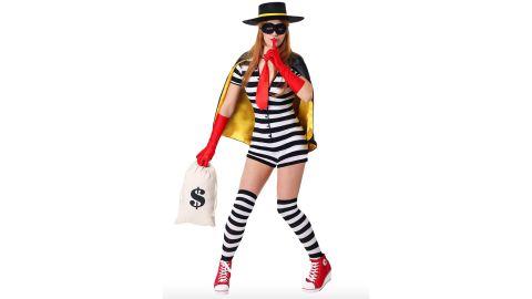 Women's Burgler Costume