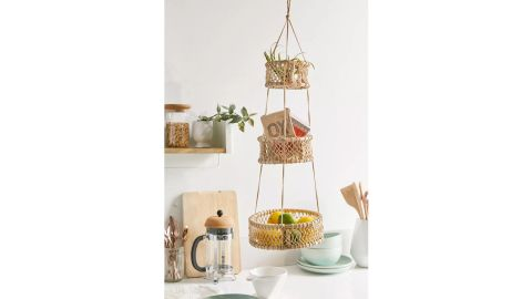 Urban Outfitters Three-Tier Hanging Basket