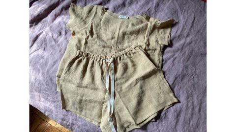 Magic Linen Linen Pajama Set Luni