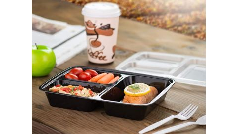 Ez Prepa Meal Prep Containers, 20-Pack