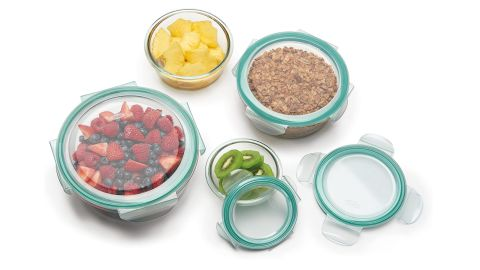 OXO Good Grips 4-Cup Glass Round Food Storage Container