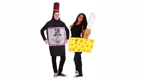 Wine And Cheese Costume