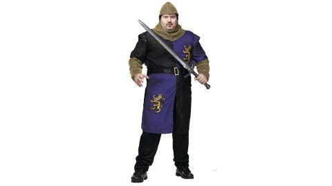 Men's Plus Size Renaissance Night Costume