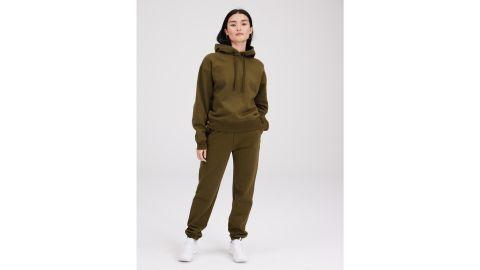 Girlfriend Collective Forest Cropped Sweatshirt