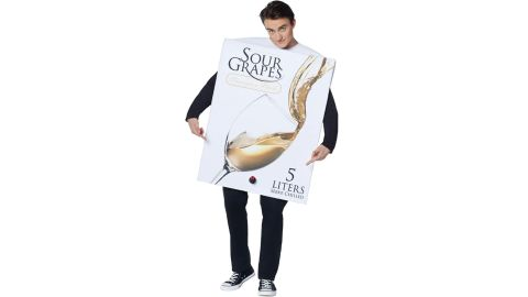 Adult Box Of Wine Costume