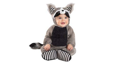 Baby Faux Fur Lil' Raccoon Costume