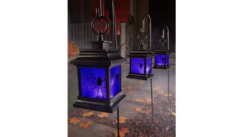 LED Creepy Lantern Pathway Markers