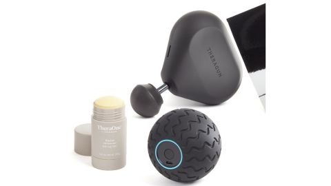 Theragun Mini, Wave Solo & Revive Stick Massage Bundle