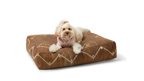 Sebastian Says Cactus Silk Dog Bed