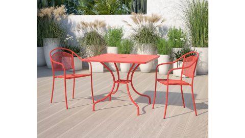 Flash Furniture Coral Patio Table
