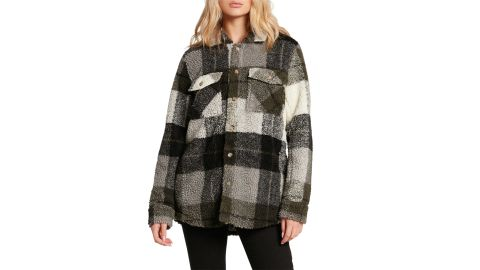 Volcom Silent High Pile Fleece Jacket