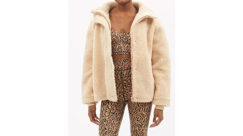 The Upside Aspen Faux-Shearling Fleece Jacket