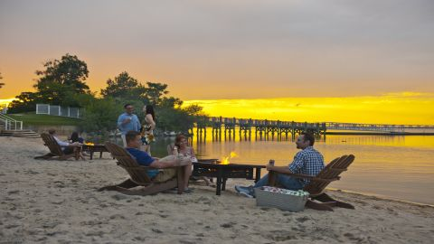 The Hyatt Regency Chesapeake Bay Golf Resort, Spa and Marina.