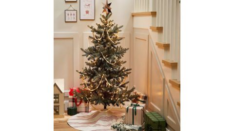 Hearth & Hand With Magnolia Pre-Lit Artificial Pine Christmas Tree