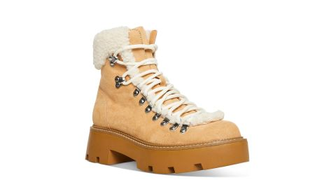 Cool Planet by Steve Madden Women's Cyclone Cold-Weather Hiker Booties