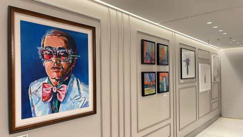 A corridor of British art
