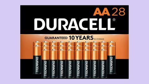 Duracell CopperTop AA Alkaline Batteries, 28 Count