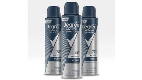 Degree Men's Antiperspirant Deodorant Spray, 3 Pack