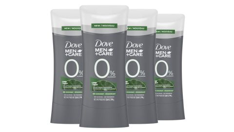 Dove Men + Care Deodorant Lime and Sage 4 Pack