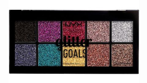 Nyx Glitter Goals Cream Pro Glitter Palette