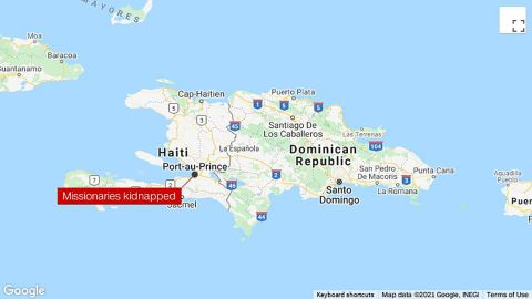 17 American missionaries have been kidnapped in Haiti