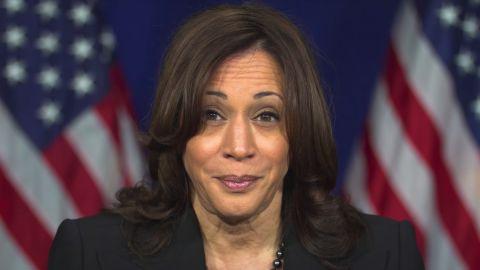 Screengrab of Kamala Harris' video supporting Virginia gubernatorial candidate Terry McCauliffe.