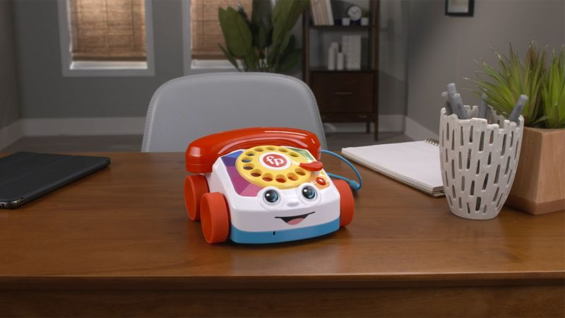 Fisher-Price calls on nostalgia with its Chatter Telephone for adults – CNN