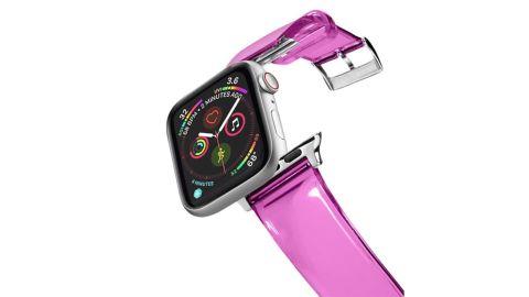 Custom Clear TPU Watch Band