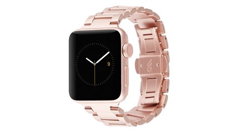 Rose Gold Linked Apple Watch Band