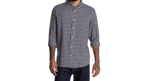 Slate & Stone Long Sleeve Flannel Button Down Shirt