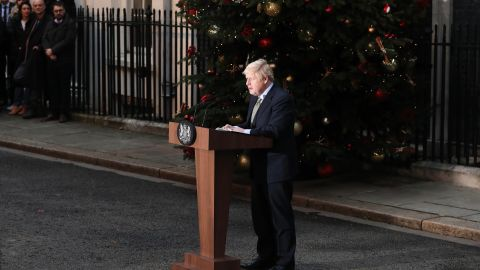 In his Johnson's address to the nation spoke of unity