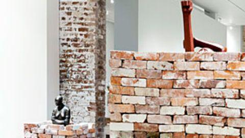 Bricks provide a foundation