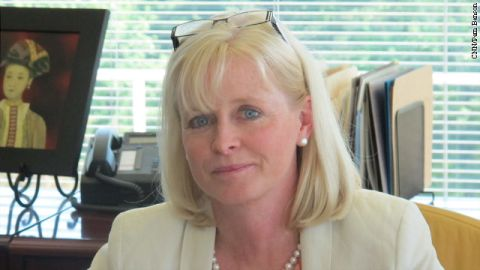 CIA Chief Information Officer Jeanne Tisinger.